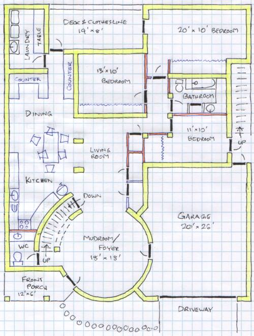 Floor plan k for Create my floor plan